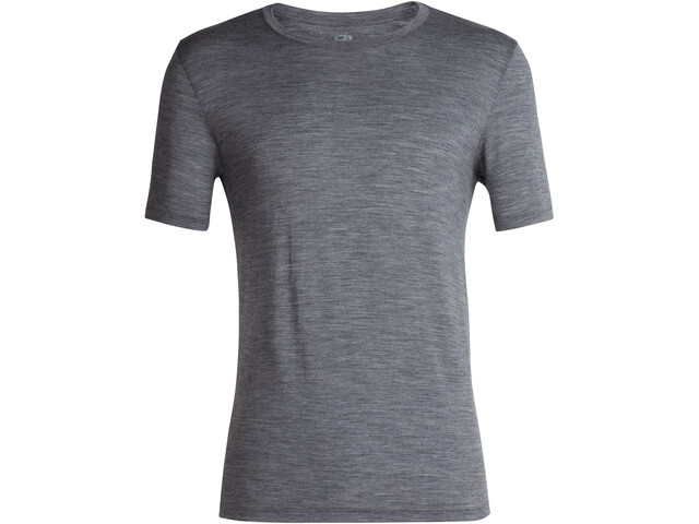 Icebreaker Tech Lite T-shirt Col ras-du-cou Homme, gritstone heather